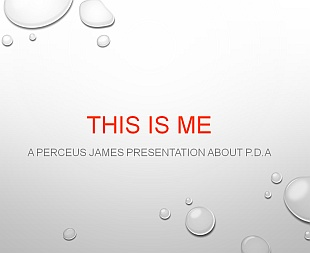 This is me Perceus James